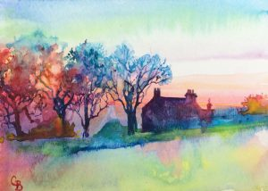 September meeting and watercolour demonstration