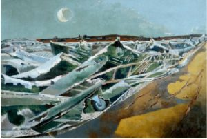 Totes Meer by Paul Nash